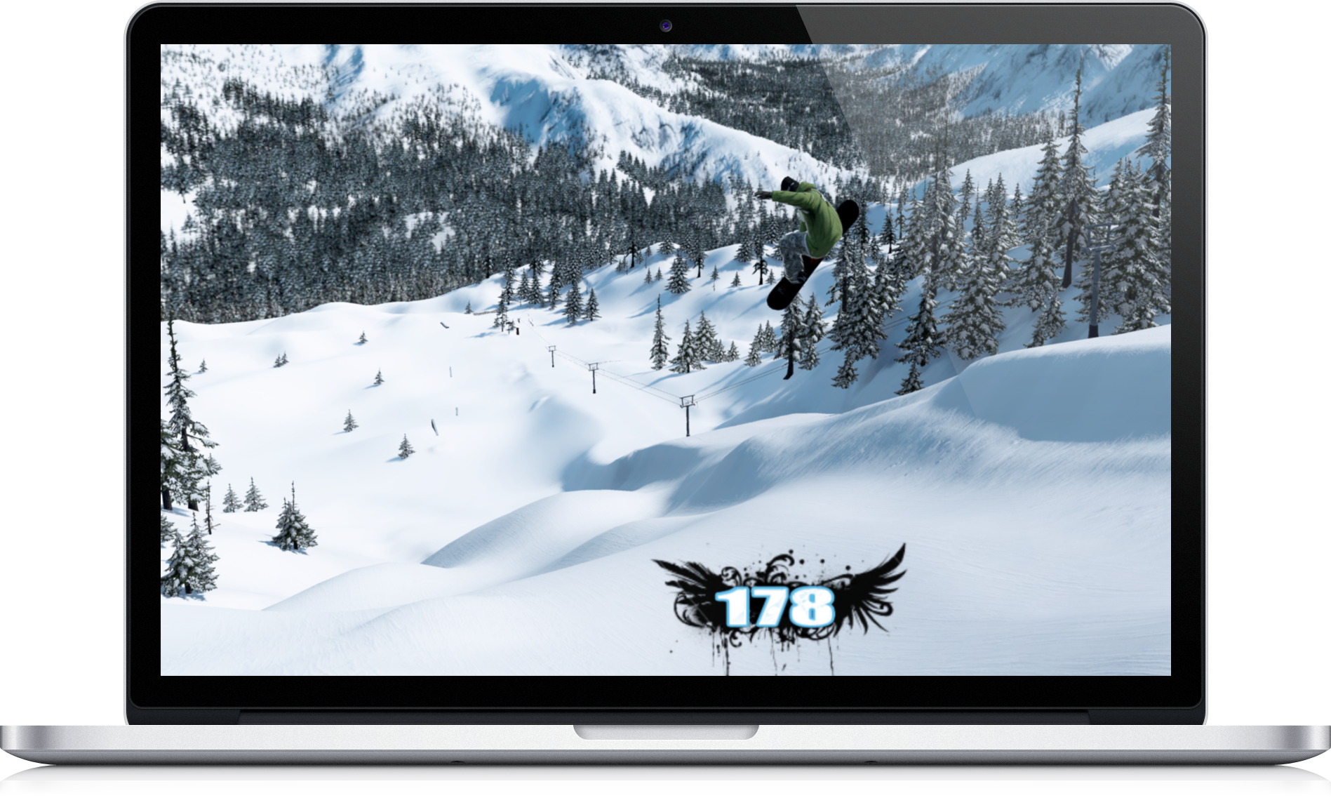 the snowboard game screenshot 2